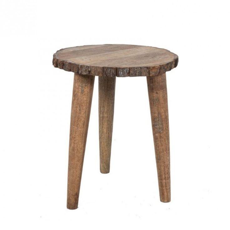 17 meilleures id es propos de table bois brut sur for Table d appoint pour canape