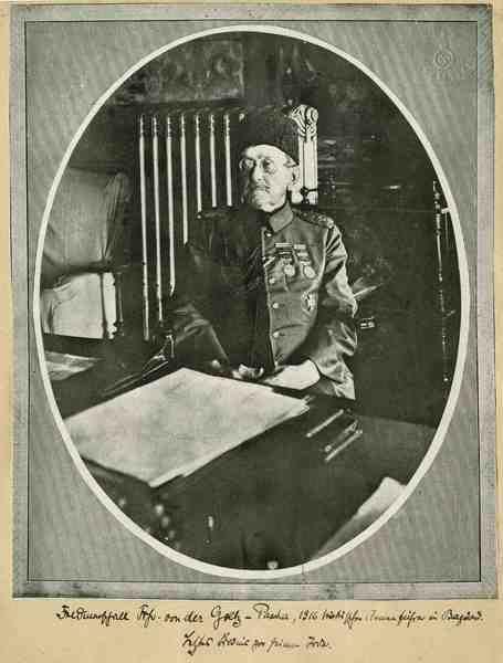 Freiherr Colmar von der Goltz-Pascha, preussischer und türkischer General