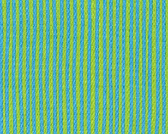 Westfalenstoff JUNGE LINIE, Streifen, hellgrün-kräftiges hellblau