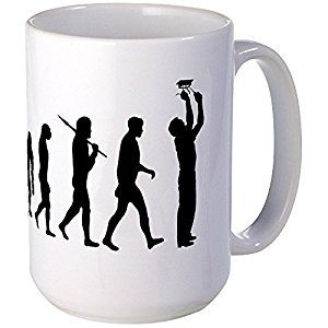 CafePress - Electrician Sparky Electricity - Coffee Mug, Large 15 oz. White Coffee Cup: Amazon.co.uk: Kitchen & Home