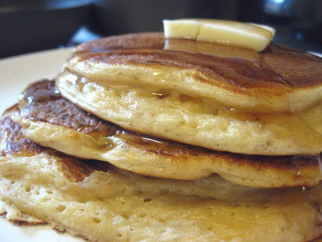 Greek Yogurt Pancakes. Made these last night for dinner, yummy.