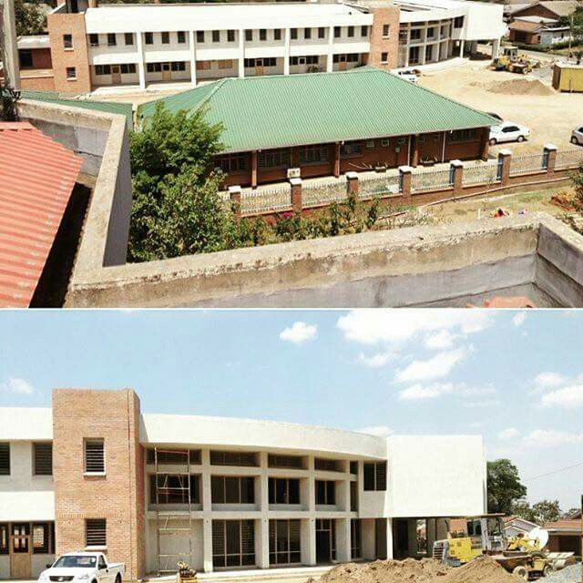 """""""Here is the almost finished building of the Mercy James pediatric Surgery Unit in Malawi!🎉🎉 Now we need to fill it with Equipment, train surgeons and medical. Personnel and create an endowment to sustain it in the years to come!! We are kicking this off at Art Basel with Art Auction and Tears Of A Clown 😂. If ticket prices are too high there are many other ways to help. Please go to www.raisingmalawi.org! And find out!! Thanks for your support.🙏🏻💘💙💘💙💘💙💙💘💙💘💘💘💙💘"""" -Madonna"""