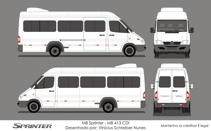 NigériaBus: MB Sprinter - 413 CDI