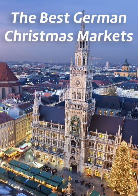 The best Christmas markets clearly are in Germany - there's a reason why 270 million people flock to German Christmas markets every year!