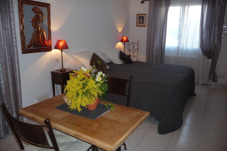 Studio Adriana - Chambres d'hôtes - B&B - Bed and breakfast - Salon - Living Room - Décoration d'intérieur - Décoration romaine