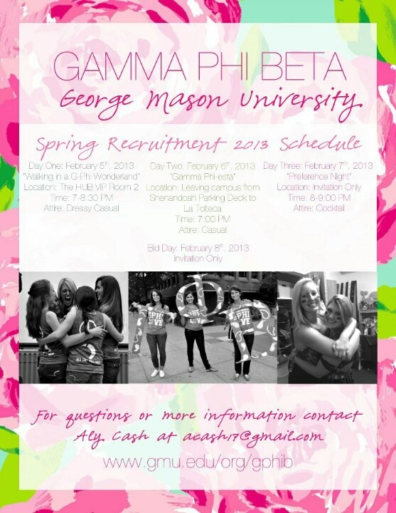 Pin By Kayla Curran On Gpb Sorority Inspiration Recruitment Spring Recruitment