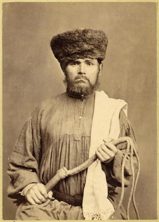 Russian Prison Guard, 1891