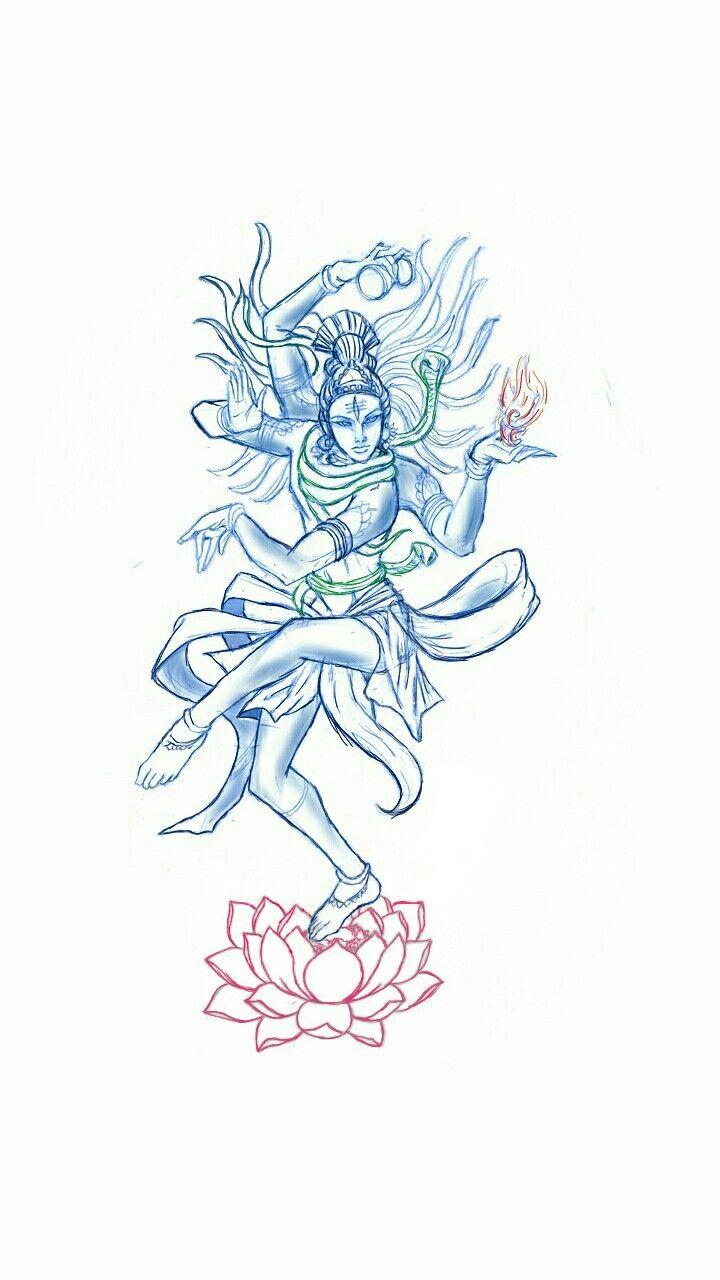 Tatoo dios Nataraja