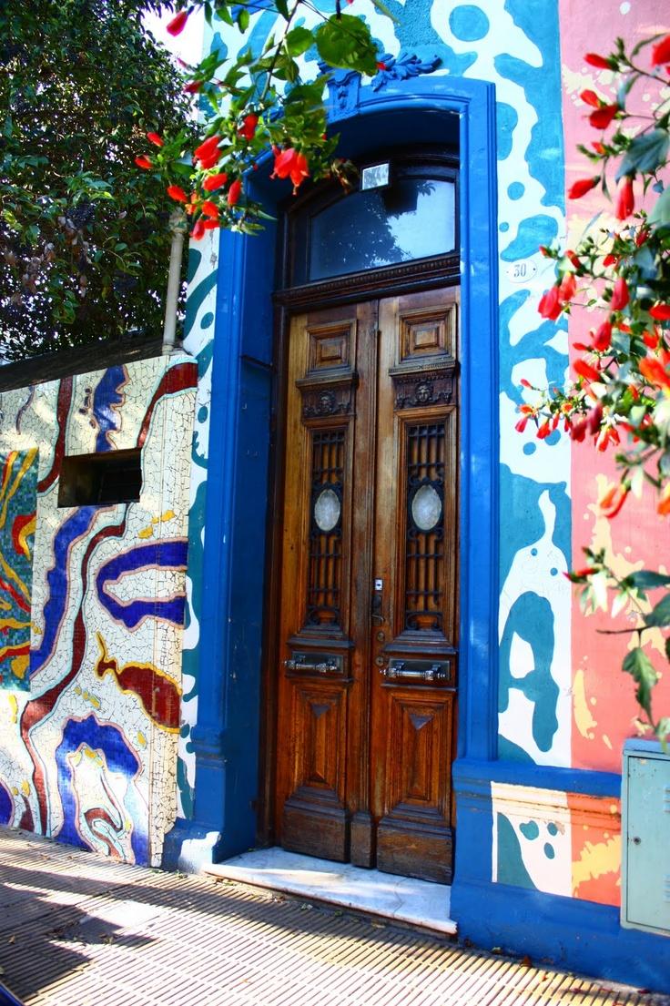 Pasaje Lanin, Barrio de Barracas. Buenos Aires, Argentina