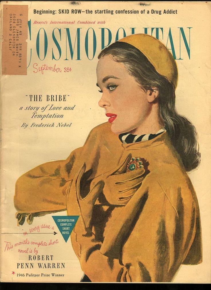 Cosmopolitan magazine, SEPTEMBER 1947 Artist: Coby Whitmore