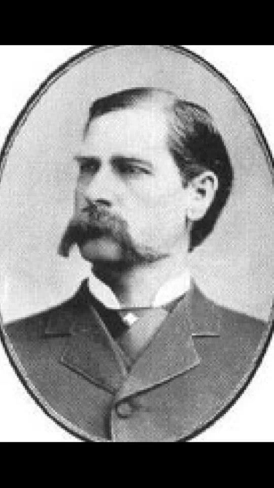 The Real Wyatt Earp:Born Wyatt Berry Stapp Earp in 1848 To Nicholis & Virginia Earp. They had 8 children Wyatt married Urilla Sutherland and later had two common law wives, Died in 1929