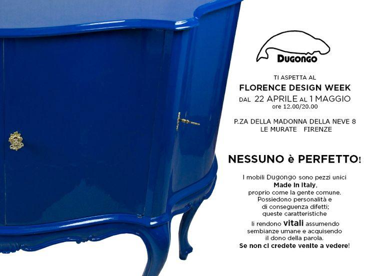 Invito allestimento DUGONGO al Florence Design Week