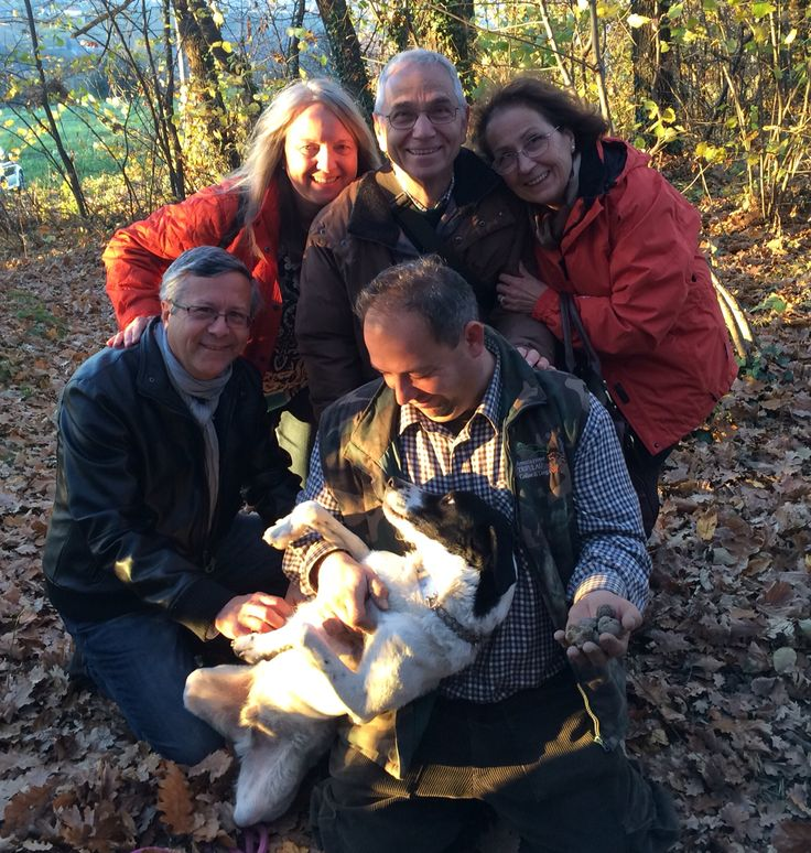 Truffle hunting Nov 2015 near Alba