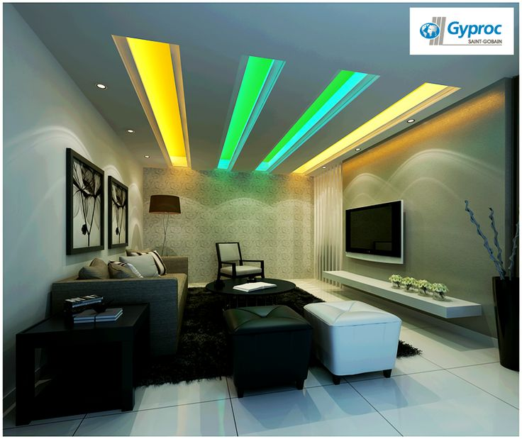 Give Your Living Room A Stunning New Avtar With This Gorgeous And Graceful  Gyproc India · India DesignCeiling ...