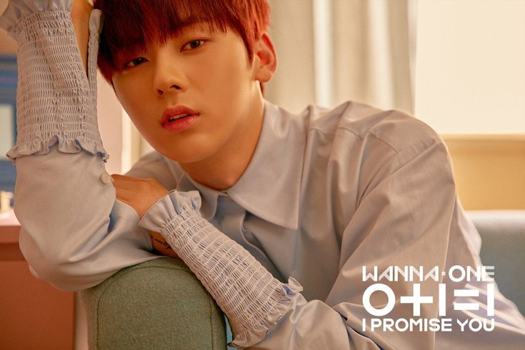 Wanna One SNS updated! 2nd mini album 0+1=1 I promise you Day ver. #hwangminhyun #wannaone ❤️