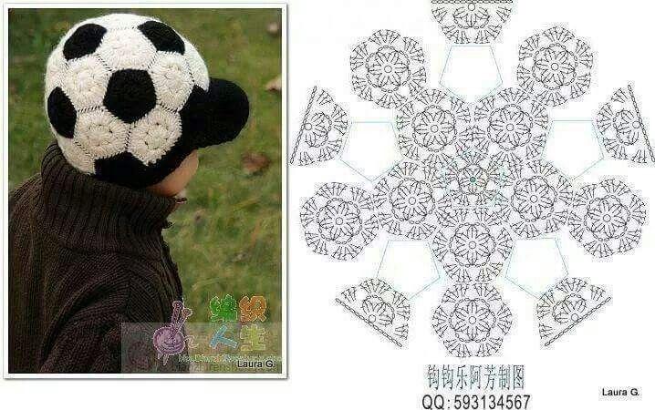 Cappello pallone calcio