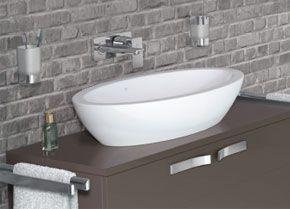 Μοντέρνοι νιπτήρες μπάνιου πορσελάνης