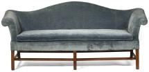 11 Different Antique Couches, Sofas and Settee Styles: Camel-back or Camelback Sofa