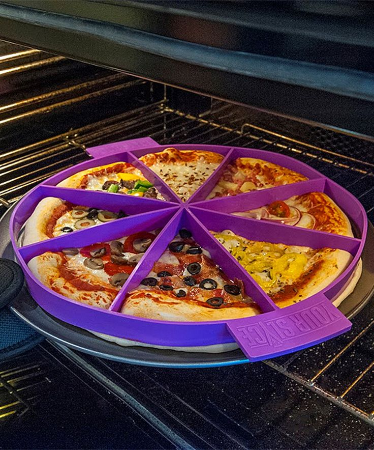 Purple Pizza-Making Tool by Your Slyce