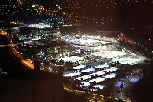 There it is, Australian Open in Melbourne • Canon EOS 650D _ JAN. 15, 2013