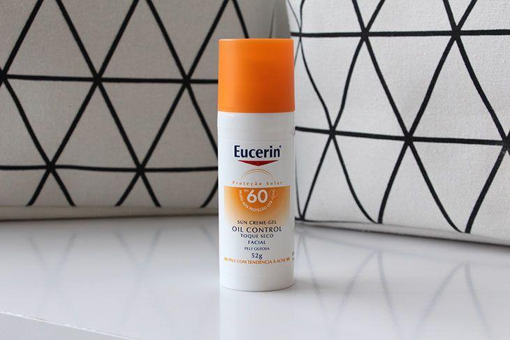 Testei Na Pele Mista Protetor Solar Oil Control Eucerin Fps 60