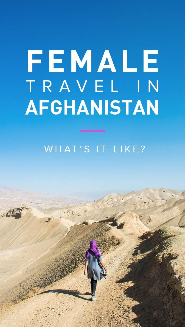 Afghanistan is one of the most backwards countries in the world when it comes to gender equality, making it an interesting choice for female travelers. Curious? Here's what it's like to travel as a woman in Afghanistan.