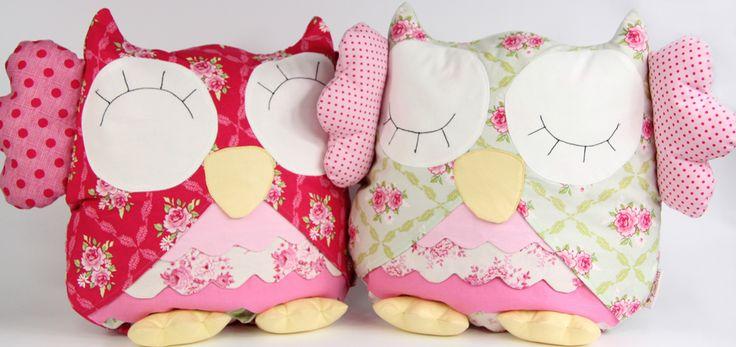 Cute owl pillows Podusie sówki