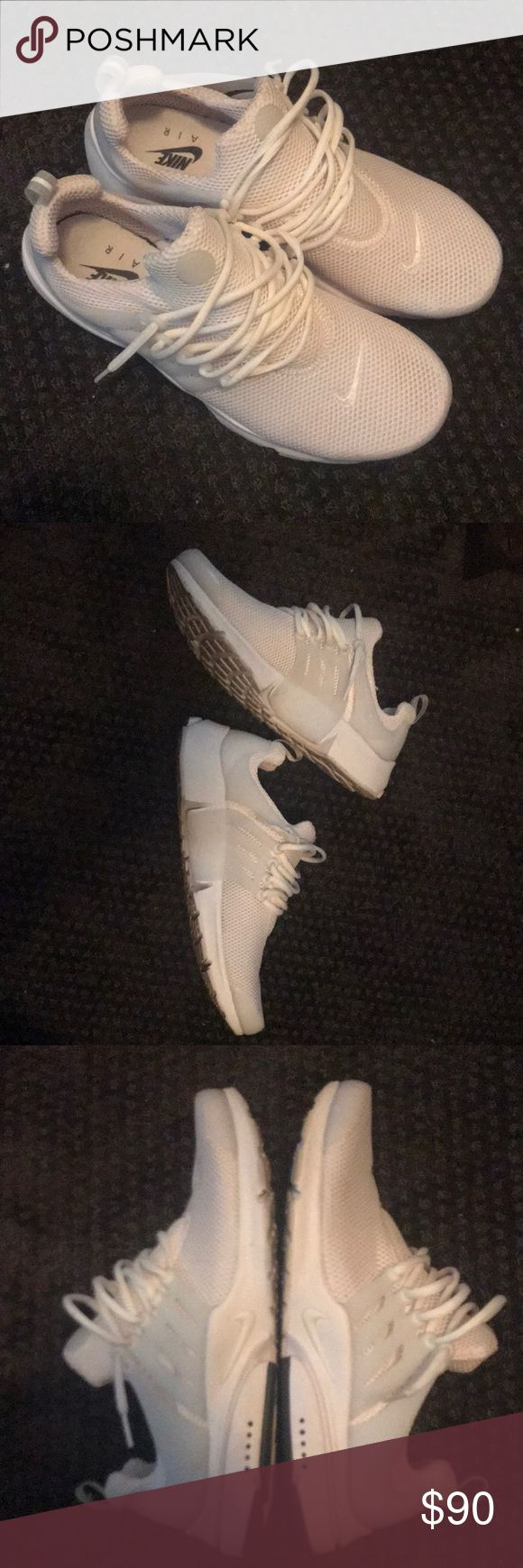 Nike Air Prestos All White Like new worn a few times Nike Shoes Sneakers