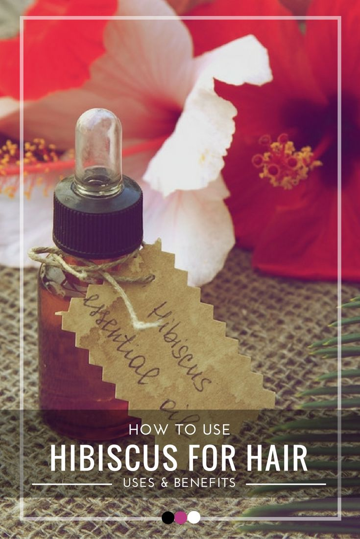 How to use hibiscus for hair- time to find out!