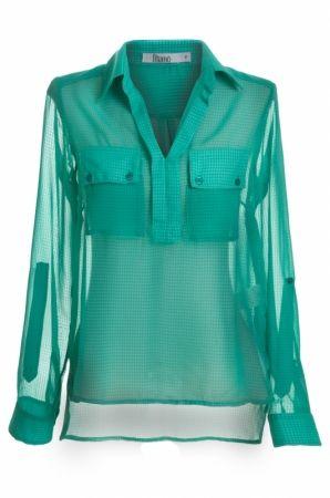 Camisa Chiffon - Mamo Brasil, roupas femininas em at� 6X sem juros