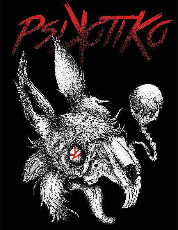 #Psikotiko, Skull, Conejo, dia3