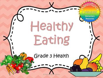 Looking for a great way to review or assess the grade 3 Ontario health strand…