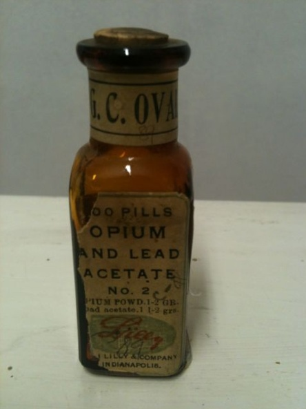 "Opium and lead acetate.. enough said. SHOULD BE LABELLED ""POISON""!!!"