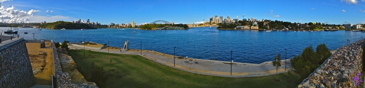 From Chatswood across Sydney to Glebe as viewed from Ballast Point Balmain
