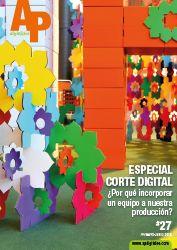 APdigitales #27 con el fascinante mundo del cartón en portada y el especial maquinaria de corte digital. Puedes ver la revista completa en http://www.apdigitales.com/revista-online