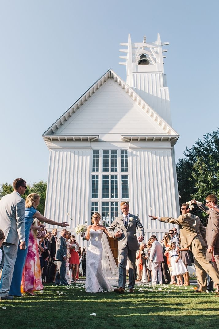 Seaside Wedding Its A S Thing Chapel Blue And White