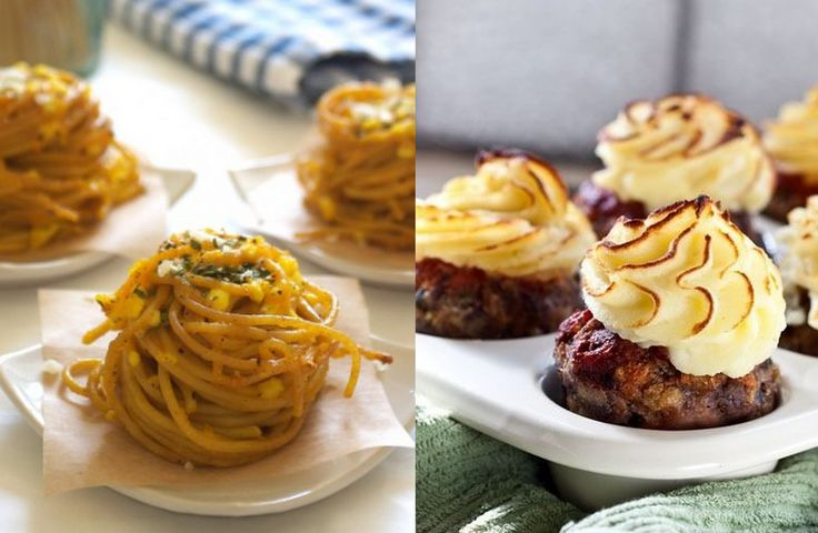 16 fiffiga maträtter i en muffinsplåt