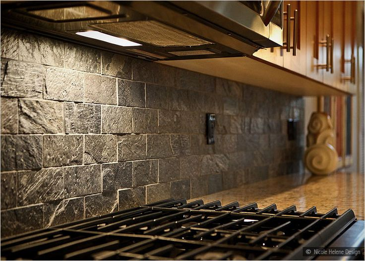 Black Backsplash | Be The First To Review U201cQuartzite Slate Subway Backsplash  Tile .