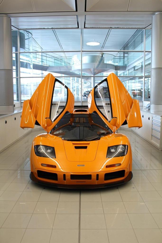 Visit The MACHINE Shop Café... (Best of McLaren @ MACHINE) Ralph Lauren's Own McLaren F1