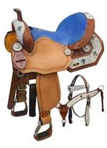 Double T  Barrel Saddle for Sale at The Saddle Company. We offer the full line of Quality Double T Barrel Saddles at Great Low Prices. All Double T Barrel Racing Saddles are sold with a 5 Year Warranty on the Tree. View our Full Line of Great Quality Barrel Saddles.
