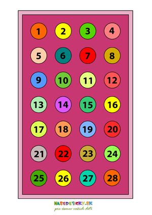 Hra s číslami