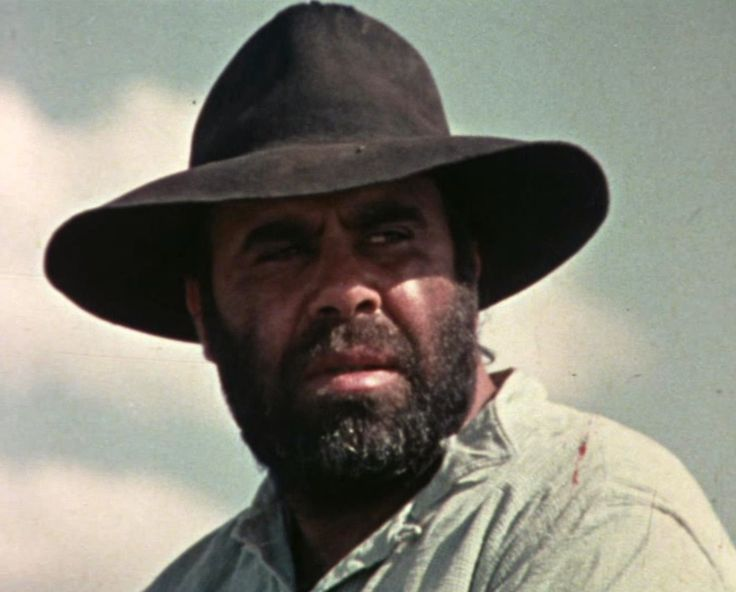 Lester Marks - one of the actors in the 'Lost in the Bush' film. He played the role of Red Cap, with Bill Tregonning who played King Richard, and Ronnie Marks as Tony. (Red Cap was one of the Aborigines brought from Mt Elgin station to help search for the three Duff children in 1864. He was also a member of the 1868 All-Aboriginal Cricket team which toured England).