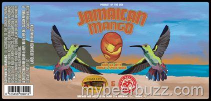 mybeerbuzz.com - Bringing Good Beers & Good People Together...: Cigar City / New Belgium - Jamaican Mango Sour