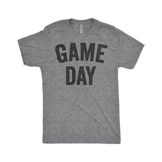 Super Bowl Game Day Ready -Game Day Shirt, It's Football Y'all, Tailgate Shirt, Fantasy Football, College Football - Next Level Apparel Tri-Blend Shirt #ad #affiliate