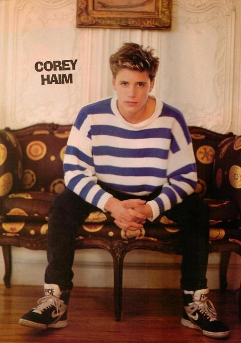 Corey Haim. Awww, he was so adorable.