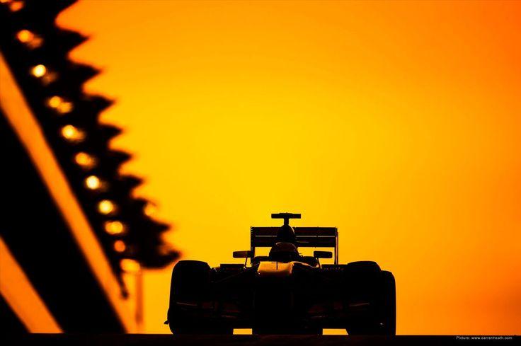 McLaren Formula 1 - The Abu Dhabi Grand Prix, by Darren Heath