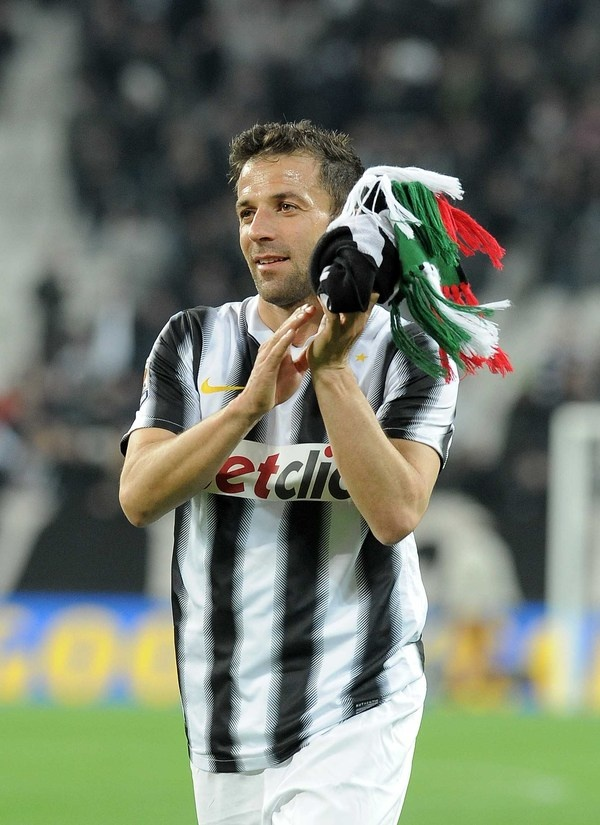 Alex Del Piero Juventus: per un italiano su cinque è simbolo di sportività