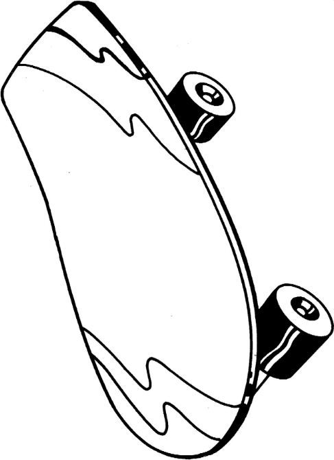 skateboard coloring page hd | Coloring Board | Pinterest | Skateboard
