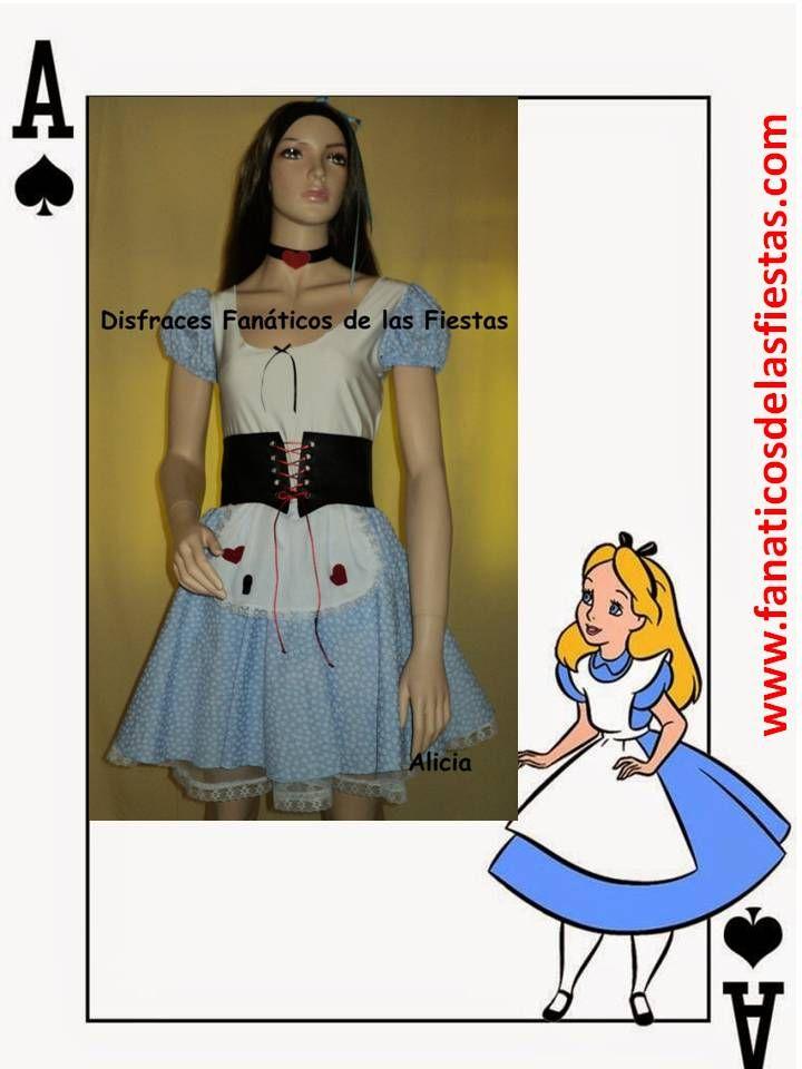 Disfraz de Alicia en el País de las Maravillas , nuevos solo venta , Precio venta 17.000 pesos