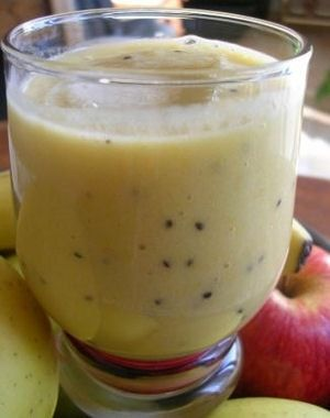 Recette minceur : Smoothie banane-kiwi